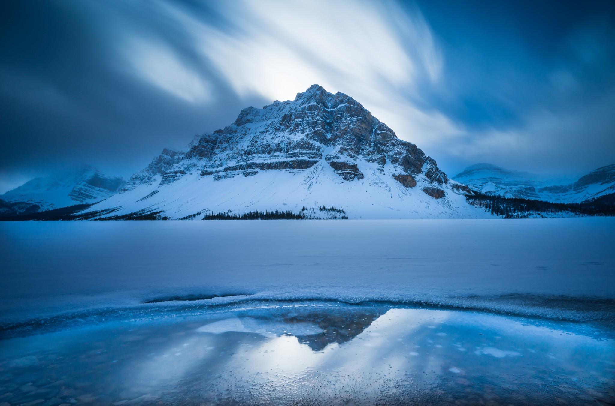 Bow Lake Alberta Canada Banff National Park
