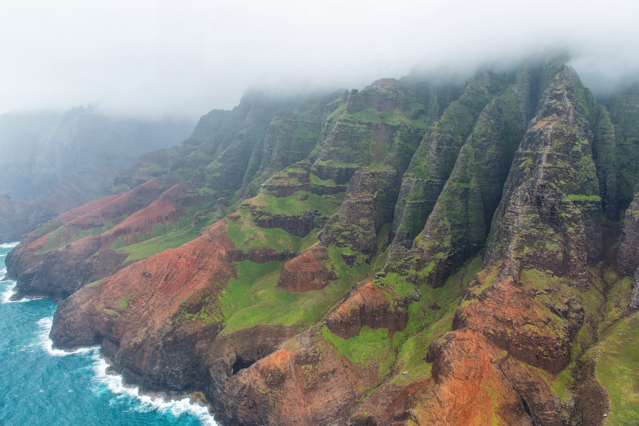 Napali Coast Kauai Hawaii Sea Cave