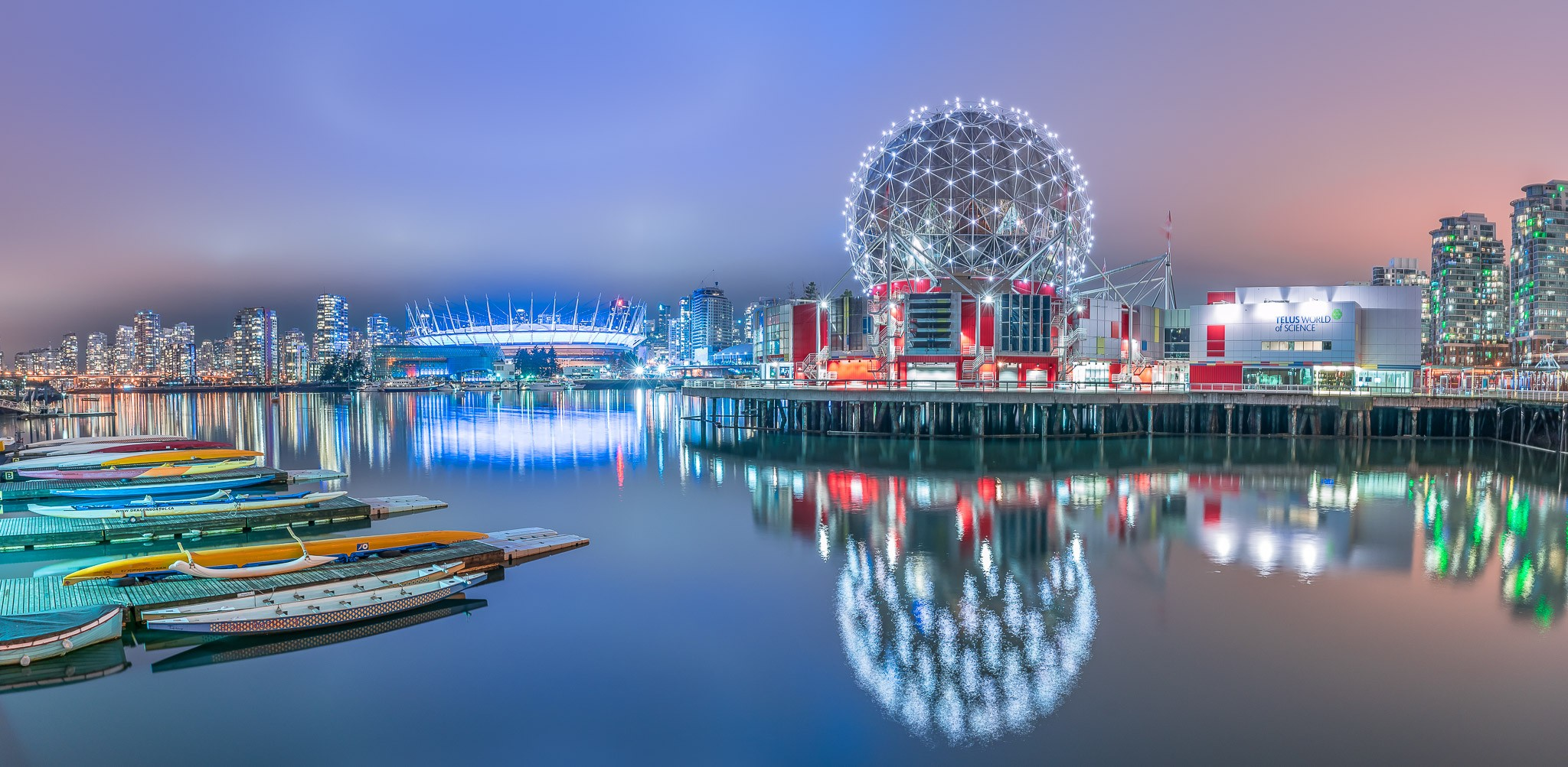 English Bay Vancouver / BC Place / Science Centre