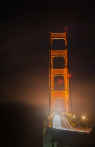Golden Gate Fog San Francisco California