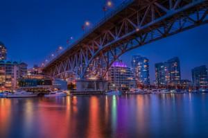 Granville Island Bridge Vancouver BC