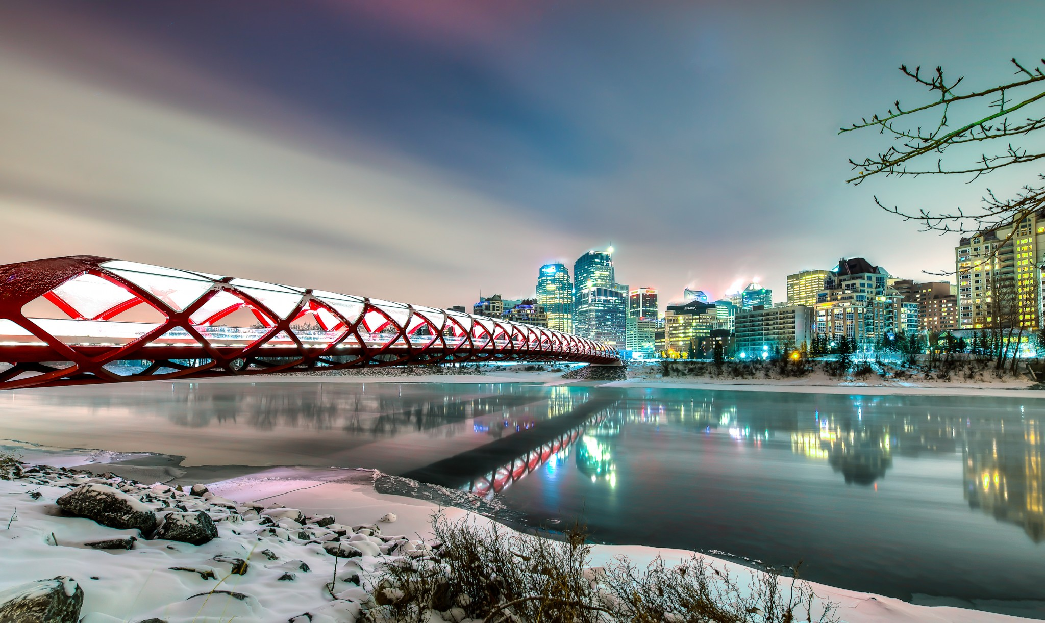 Peace Bridge Calgary Alberta