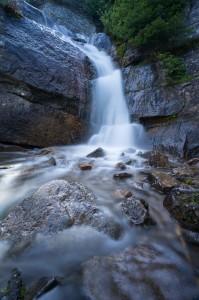 Water Falls Agnes Lake Banff Nation Park Alberta