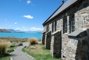 Church of the Good Shepard Lake Tekapo New Zealand