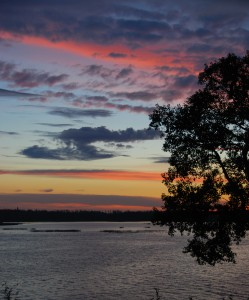 Loon Lake Saskatchewan Sunset